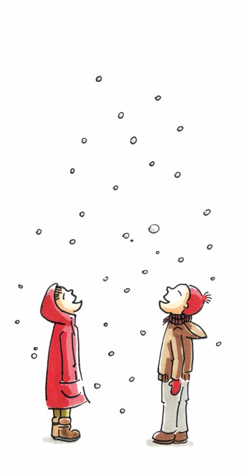 pierwszy snieg+